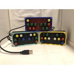 Button box 12 pulsanti usb pc